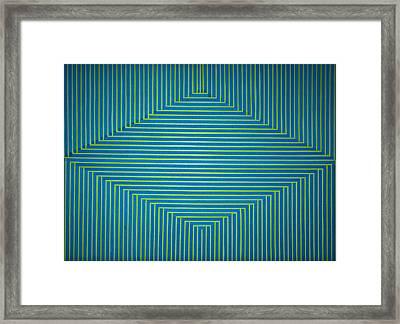 Tape Art Framed Print