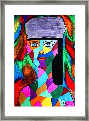 Tapestry Framed Print by Chrissy Pena
