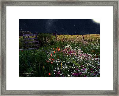 Tapestry In The Wild Framed Print by RC deWinter