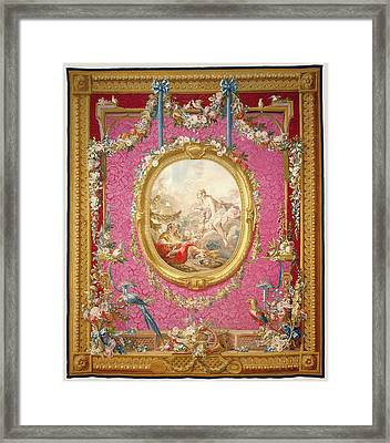 Tapestry Laurore Et Céphale, From Les Tentures De Framed Print by Litz Collection