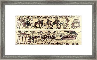 Tapestry Of Bayeux. The Complete Framed Print by Everett