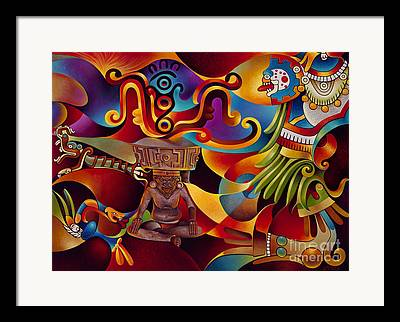 Olmec Framed Prints