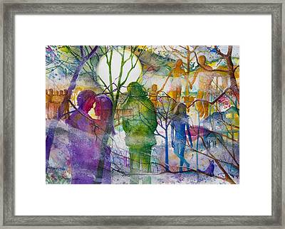 Tapestry Of Memories Framed Print by Patricia Allingham Carlson