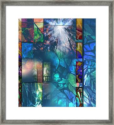 Tapestry Path Framed Print