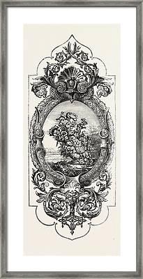 Tapestry Pattern Framed Print
