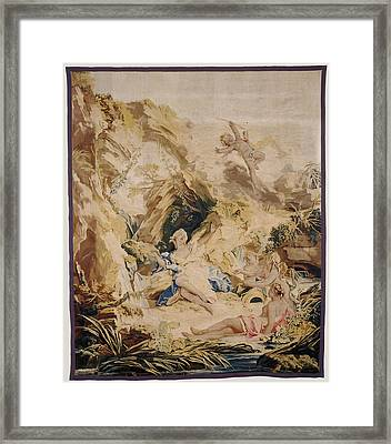 Tapestry The Abandonment Of Psyche After Design Framed Print