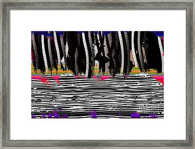 Tapestry Framed Print by Tina M Wenger