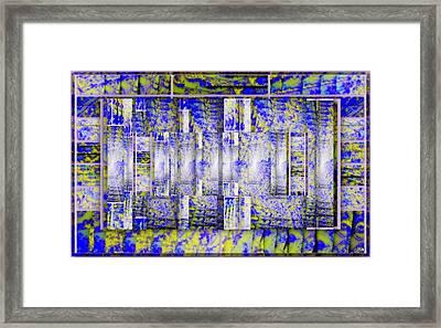 Tapeto Montanioso Framed Print by Halina Nechyporuk