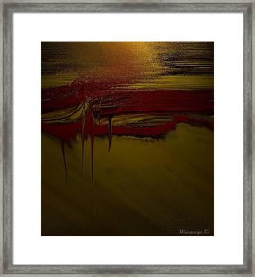 Tapiz-2 Framed Print by Ines Garay-Colomba