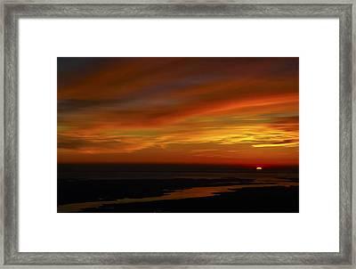 Rappahannock Sunrise II Framed Print by Greg Reed