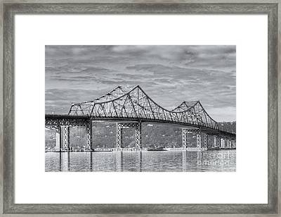 Tappan Zee Bridge Iv Framed Print by Clarence Holmes