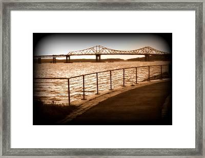 Tappan Zee Bridge Ix Framed Print