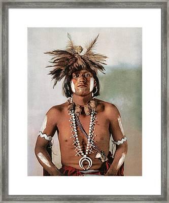 Taqui A Moki Snake Priest Framed Print
