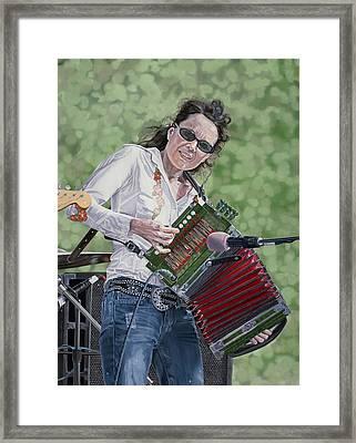 Tara Nevins Framed Print by Kevin Aita