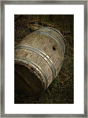 Taransaud Tonnellerie Framed Print by Odd Jeppesen