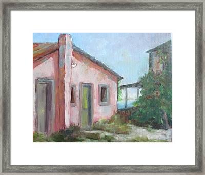 Taranto Oyster House Framed Print by Susan Richardson