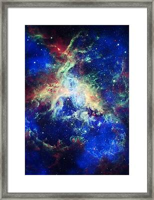 Tarantula Nebula 4 Framed Print by Jennifer Rondinelli Reilly - Fine Art Photography