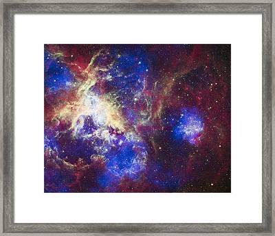 Tarantula Nebula Framed Print by Adam Romanowicz
