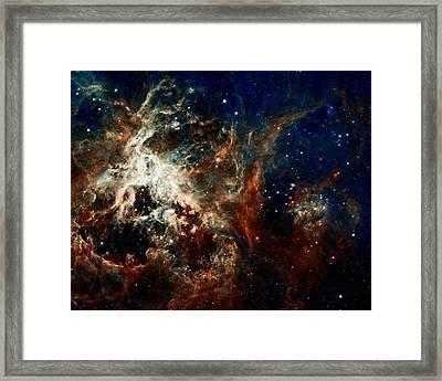 Tarantula Nebula Framed Print by Amanda Struz