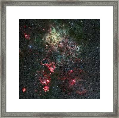Tarantula Nebula Framed Print