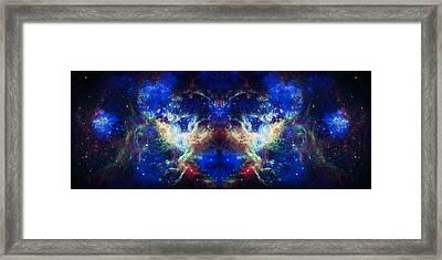 Tarantula Nebula Reflection Framed Print by Jennifer Rondinelli Reilly - Fine Art Photography