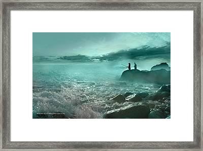 Tarde De Pesca Framed Print by Alfonso Garcia