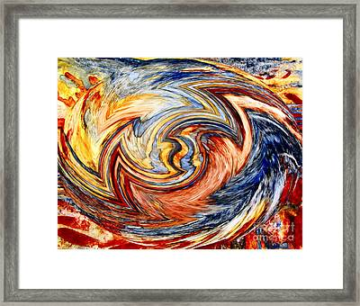 Tardis Stage 2 Framed Print
