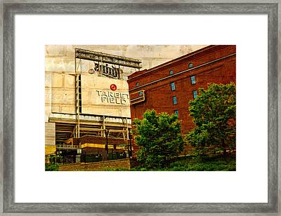 Target Field Home Of The Minnesota Twins Framed Print by Susan Stone