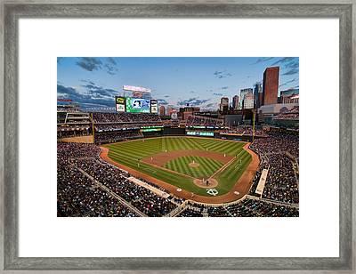 Target Field Framed Print