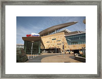 Target Field - Minnesota Twins Framed Print by Frank Romeo