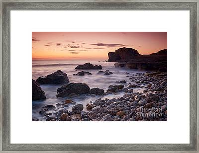 Target Rock Sunrise Framed Print by Ray Pritchard