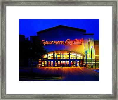 Framed Print featuring the digital art Target Super Store C by P Dwain Morris