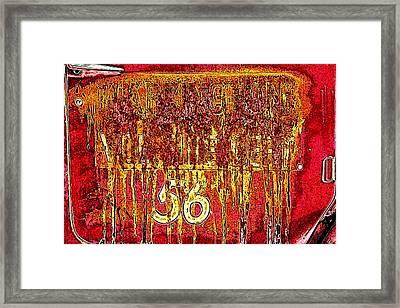 Tarkington Vol Fire Dept 56 Framed Print