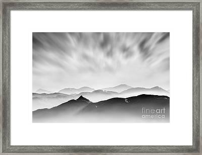 Tarmachan Ridge Framed Print by Rod McLean
