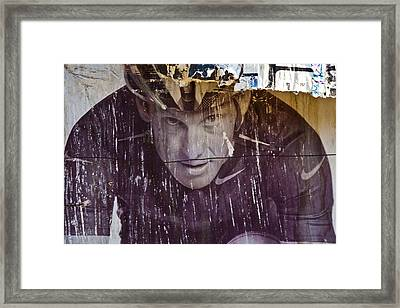 Tarnished Image Framed Print