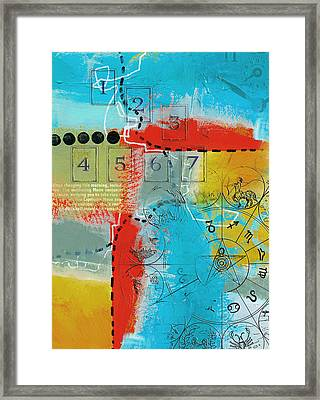 Tarot Art Abstract Framed Print by Corporate Art Task Force