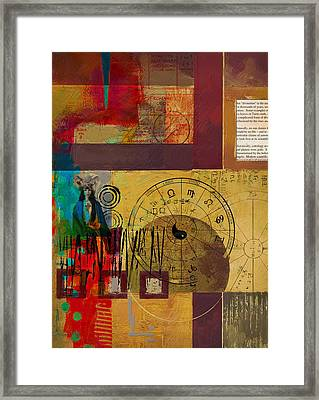 Tarot Card Abstract 003 Framed Print