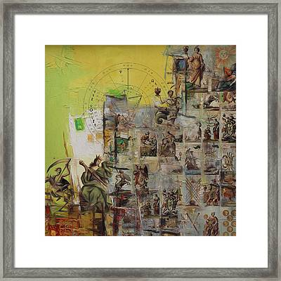 Tarot Card Set Framed Print by Corporate Art Task Force