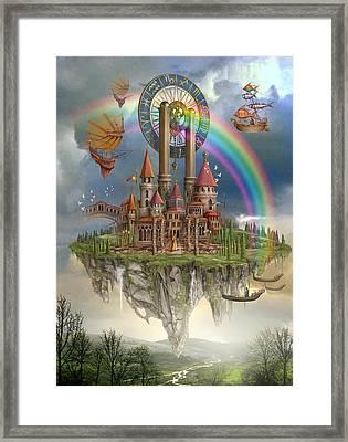 Tarot Town Framed Print by Ciro Marchetti
