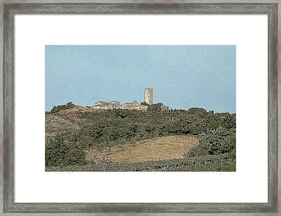 Tarquinia Lanscape Framed Print