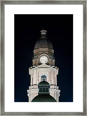 Tarrant County Courthouse V2 020815 Framed Print