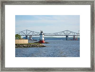 Tarrytown Lighthouse Framed Print