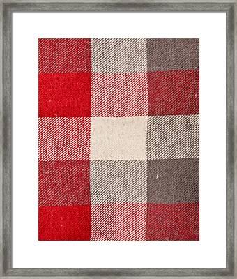 Tartan Framed Print by Tom Gowanlock