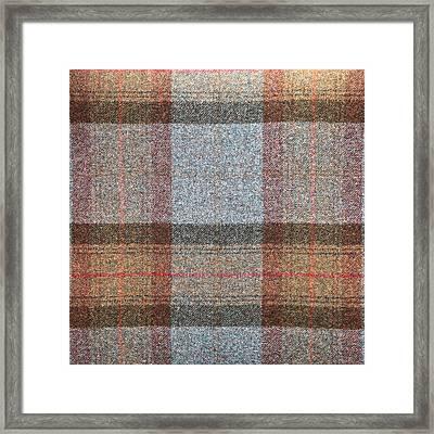 Tartan Wool Framed Print