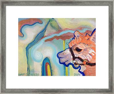Tasha's World Framed Print
