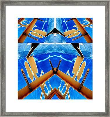 Task Of The Irradiator 2013 Framed Print by James Warren