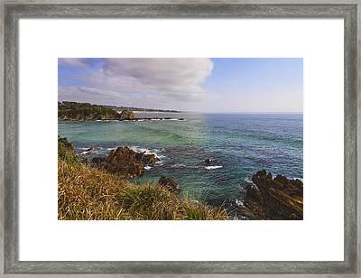 Tasman Framed Print