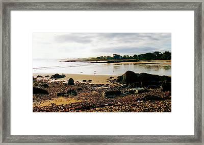 Tasmanian Seascape Framed Print