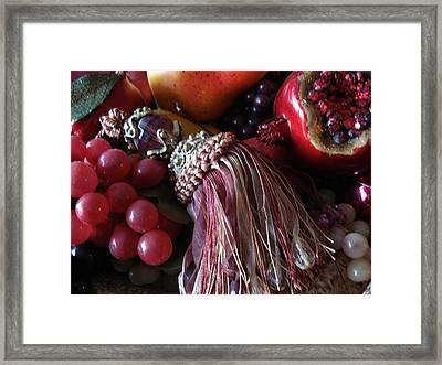 Tassel With Fruit Framed Print