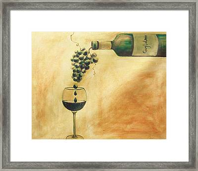 Taste Of Life Framed Print